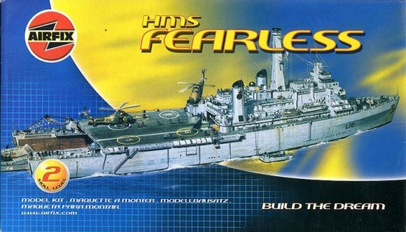 HMS Fearless 1/600 Scale Ship Model Kit