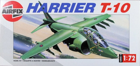 Hawker Siddley Harrier T10 Trainer 1/72 Scale Plastic Model Kit