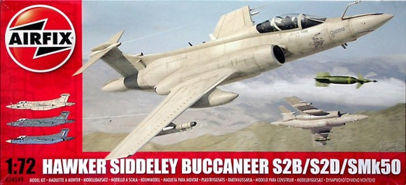 Hawker Siddley Buccaneer S2B 1/72 Scale Plastic Model Kit