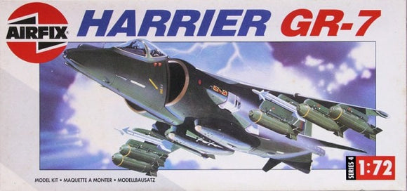 Hawker Siddley Harrier GR7 Trainer 1/72 Scale Plastic Model Kit