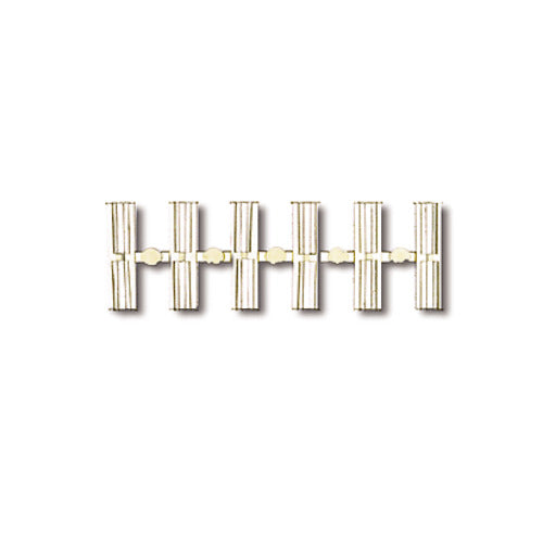 HO Scale Code 100 Insulating Rail Joiners