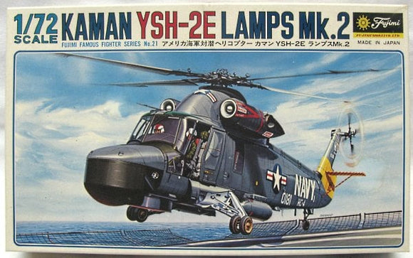 Kaman YSH-2E Lamps Mk2 Seasprite Helicopter 1/72 Scale Plastic Model Kit