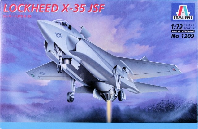Lockheed Martin X-35 JSF Fighter 1/72 Scale Plastic Model Kit