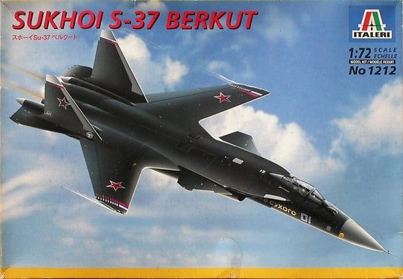 Sukhoi SU37 Berkut Fighter 1/72 Scale Plastic Model Kit