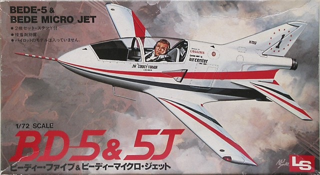 BEDE BD5J Light Aircraft 1/72 Scale Plastic Model Kit