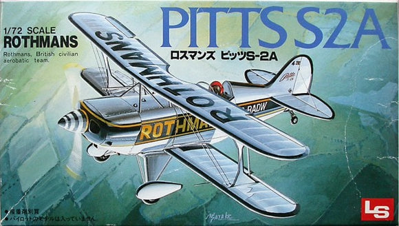 Pitts Special S2A Sport Plane 1/72 Scale Plastic Model Kit