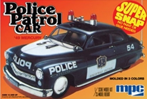 Police Patrol Car 1/25 Scale