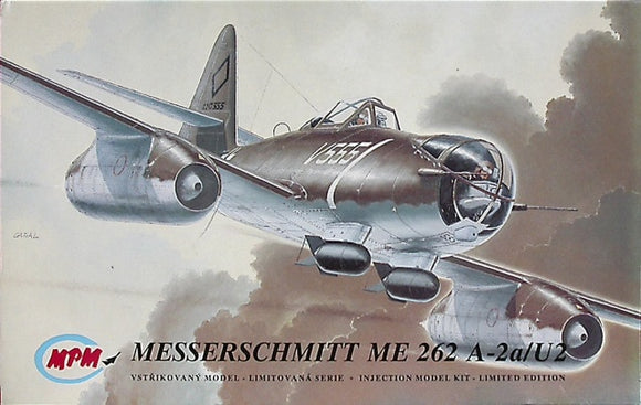 Messerschmitt ME 262A-2a/U2 1/72 Scale Plastic Model Kit