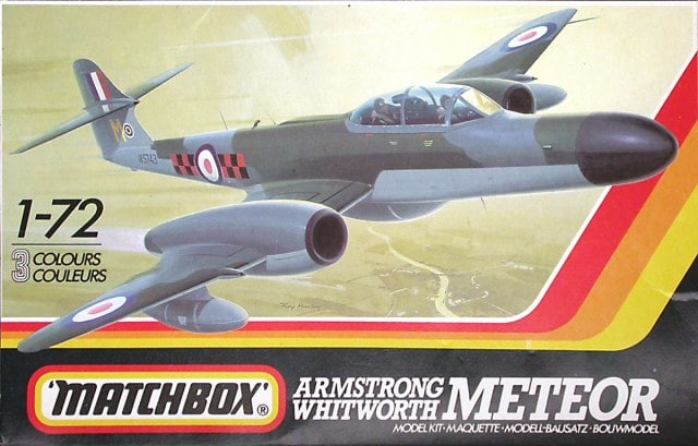 Gloster Meteor Night Fighter Variants 1/72 Scale Plastic Model Kit