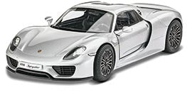 Porsche 918 Spyder Plastic Model Car Kit
