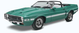 1969 Shelby GT500 Convertible Plastic Model Car Kit