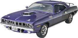 1971 Plymouth Hemi Barracuda Plastic Model Car Kit Revell 85-2943