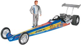 Jungle Jim's Rail Dragster 1/25 Car Model Kit