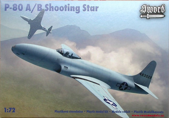 Lockheed P-80A/B Shooting Star Fighter