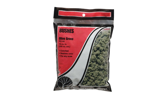 Bushes Olive Green