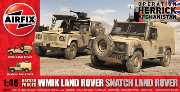 WMIK Land Rover Snatch Land Rover Vehicles 1/48