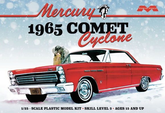 1965 Merdury Comet Cyclone Plastic Model Car Kit Mobeuis Models 1210