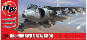BAE Harrier GR7-9A 1/72 Scale Plastic Model Kit Airfix A04050