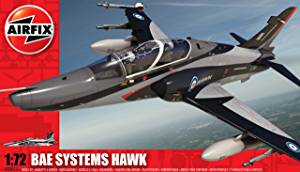 BAE Hawk  1/72 Scale Plastic Model Kit Airfix A03073