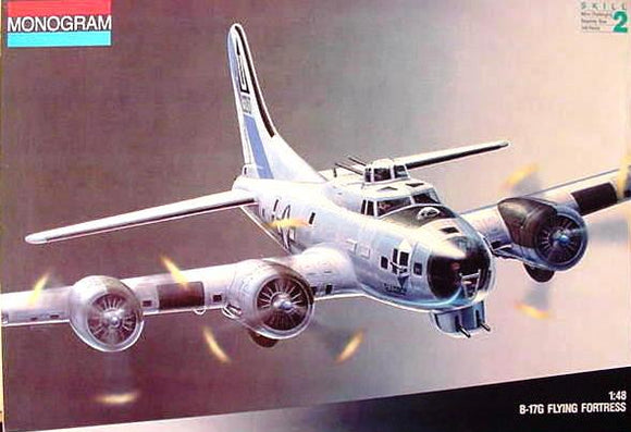 Boeing B-17G Flying Fortress 1/48 Scale Plastic Model Kit Monogram 5600