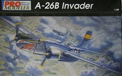 Douglas A26B Invader 1/48 Scale Plastic Model Kit Monogram 5920