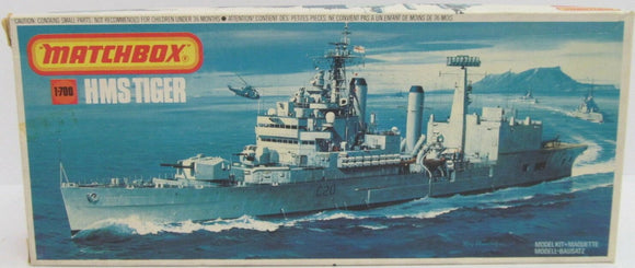 HMS Tiger 1/700 Scale Plastic Model Kit Matchbos PK164