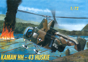 Kaman HH-43  Huskie Helicopter 1/72 Scale Plastic Model Kit Mach 2