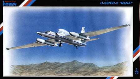 Lockheed U2S ER-2 1/72 Scale Plastic Model Kit Special Hobby 72070