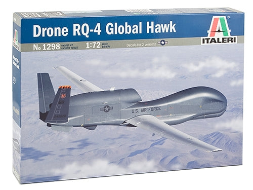Northrop Grumman RQ-4 Global Hawk 1/72 Scale Plastic Model Kit Italeri 1298