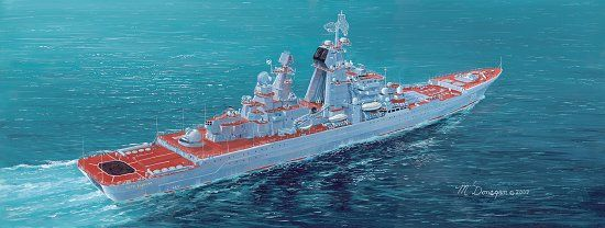 P. Velikiy Battle Cruiser 1/700 Scale Plastic Model Kit Dragon 7038