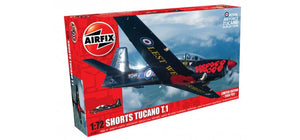 Shorts Tucano T 1 1/72 Scale Plastic Model Kit Airfix A73011