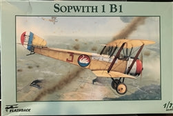 Sopwith 1 B1 Biplane  1/72 Scale Plastic Model Kit Flashback KLH 7292