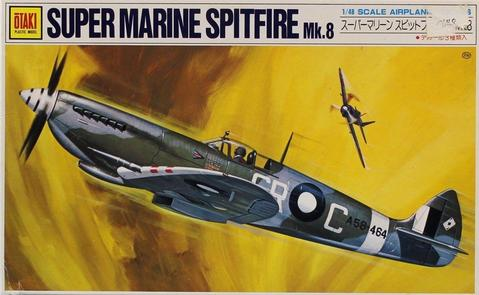 Supermarine Spitfire MK Vlll 1/46 Scale Plastic Model Kit Otaki OT2-24-500