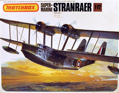 Supermarine Stranraer   1/72 Scale Plastic Model Kit Matchbox Pk601