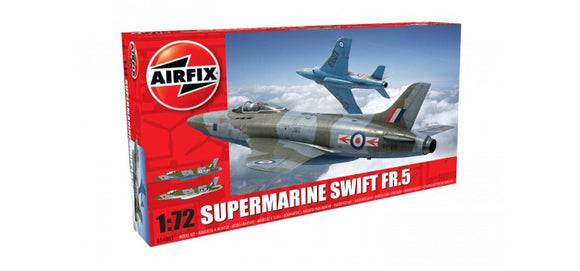 Supermarine Swift FR 5 1/72 Scale Plastic Model Kit Airfix A04003