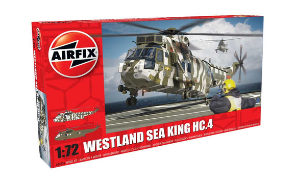 Westland Sea King HC 4 1/72 Scale Plastic Model Kit Aitfix A04056