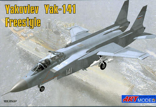 Yakolev Yak 141 Freestyle  1/72 Scale Plastic Model Kit Art Model AM7205