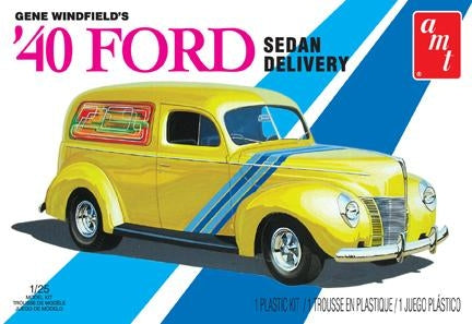 1940 Ford Sedan Delivery Truck  1/25 Scale Plastic Model Kit AMT769