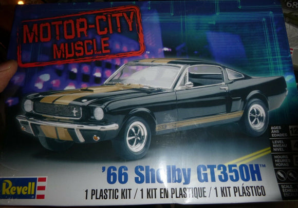 1966 Ford Shelby GT350H 1/24 Scale  Plastic Model Car Kit Revell 85-2482