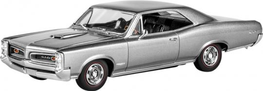 1966 Pontiac GTO 1/25 Scale  Plastic Model Car Kit Revell 85-4479