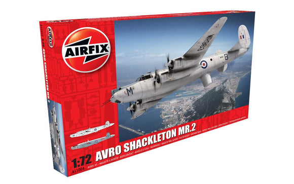 Avro Shackleton MR2 1/72 Scale Plastic Model Kit Airfix A11004
