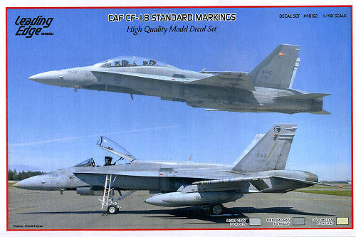 CAF Cf-18 Standard Markings Decal Sheet 1/48 Scale Leading Edge 4862