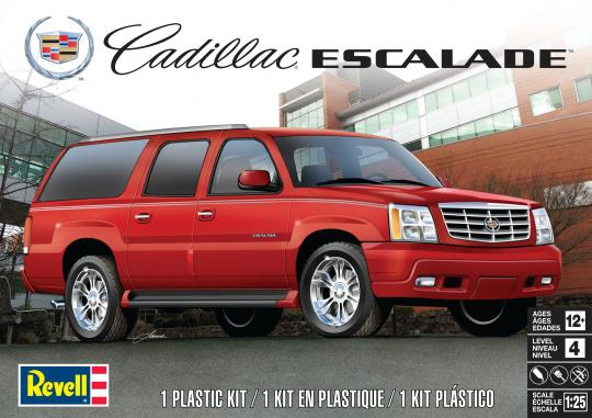 Cadillac Escalade 1/25 Scale  Plastic Model Car Kit Revell 85-4479