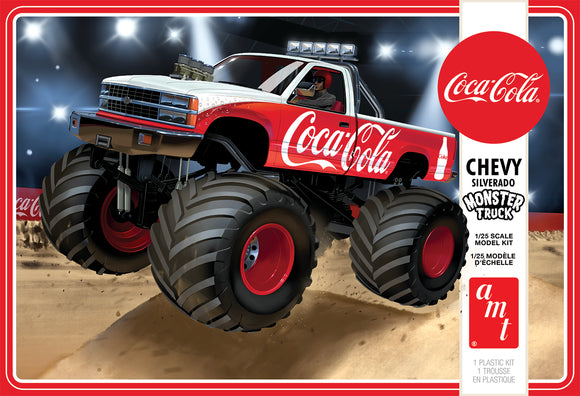 Chevy Silverado 'Monster Truck' 1/25 Plastic Model Vehicle Kit AMT1184
