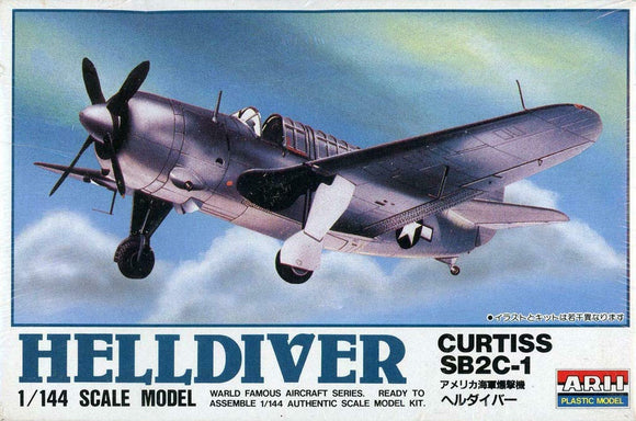 Curtiss SB@C-1 Helldiver 1/144 Scale Plastic Model Kit ARII 23036-200