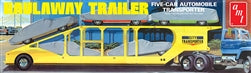 Haulaway Car Trailer 1/25 Plastic Model Car Kit AMT1193