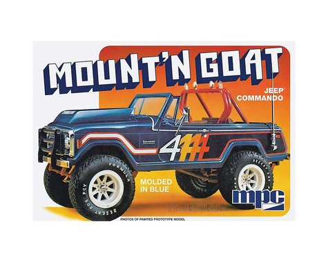 Jeep Commando 'Mountain Goat' 1/25 Plastic Model Vehicle Kit MPC887