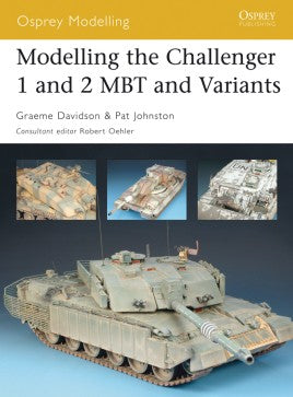 Modelling the Challenger 1 and 2 and Variants Osprey Publishing MOD29