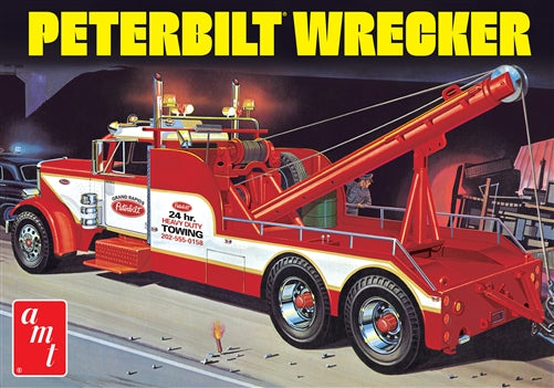 Peterbilt Wrecker 1/25 Plastic Model Vehicle Kit AMT1133