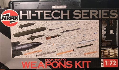 RAF/USA Weapons Set Aircraft 1/72 Scale Plastic Model Kit  Airfix 05041